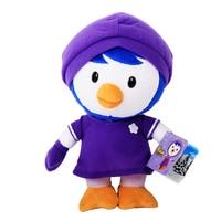 30 см Pororo маленький пингвин фиолетовый Пингвин Петти плюшевые Игрушечные лошадки Куклы Мягкие Животные Игрушечные лошадки Brinquedos Для детей П...
