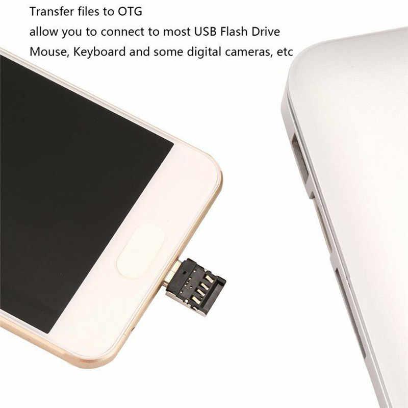 نوع-C محول وتغ متعددة الوظائف تحويل USB واجهة إلى نوع-C محول مايكرو-نقل واجهة ل كابلات البيانات قارئ بطاقات
