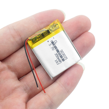 1/2/4Pcs Mp3 Mp4 MP5 Player GPS Replacement Battery For 3.7v 350mah 3.0*30*35mm 303035 Rechargeable Li Polymer Battery 303035 стоимость
