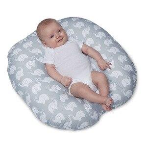Almohada de bebé multifunción cojín de bebé almohada lavable para alimentar alfombra para habitación de niños almohada para mujeres embarazadas