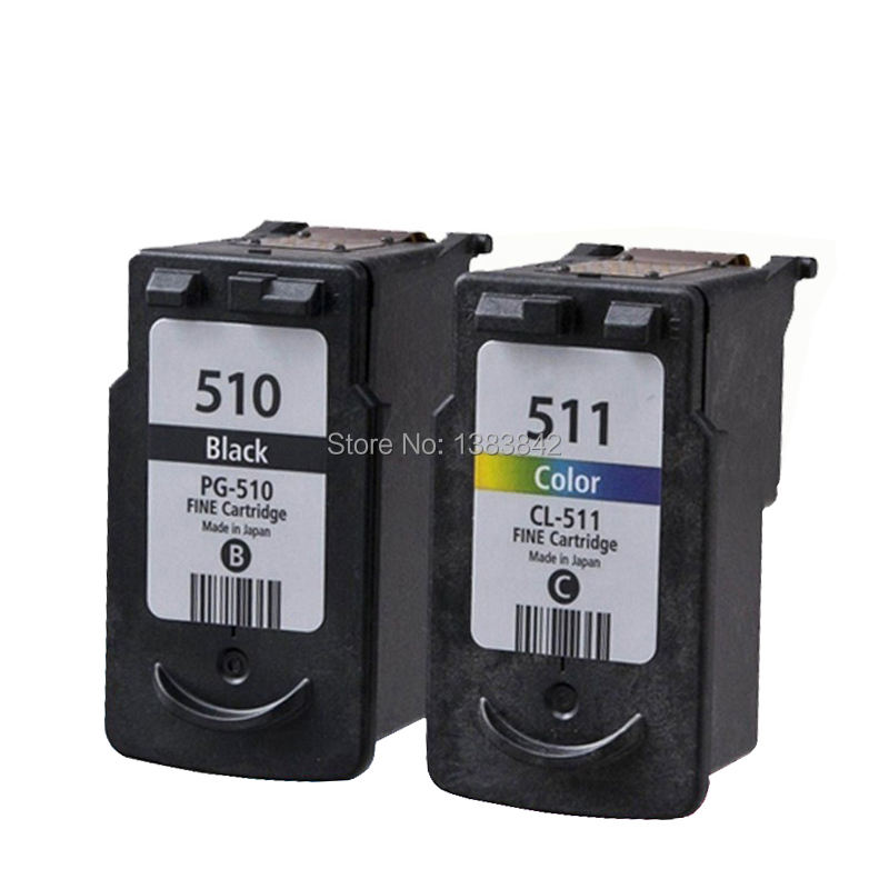 hisaint For Canon PG-510 CL-511 Ink Cartridge PG 510 CL 511 PG510 CL511 Pixma MP240 MP250 MP260 MP270 MP272 MP280 MP480 MP490