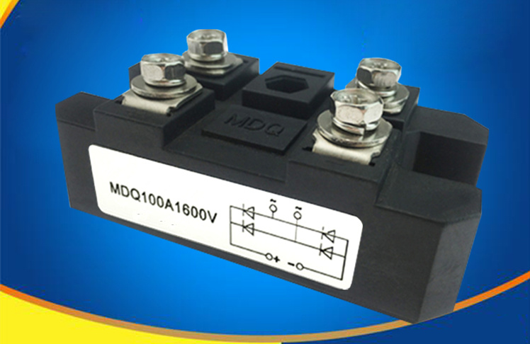 Single-phase Rectifier Bridge Module For MDQ100A1600V MDQ200A 300A 500A 1000A 1200V Bridge Modules