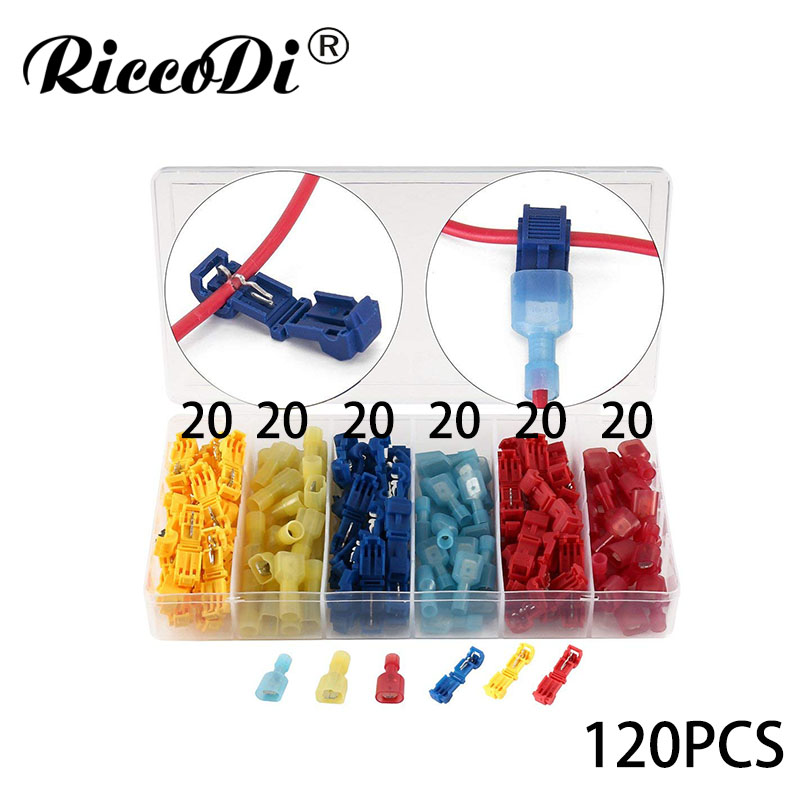 10X Red Electrical Cable Connectors Quick Splice Lock Wire Terminals Crim KW