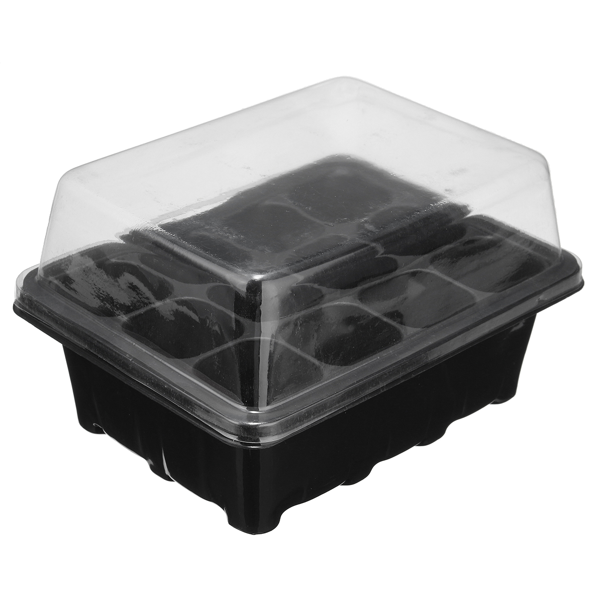1 x PROPAGATOR KIT Tray/Lid Grow Box Greenhouse Sow Seed Seedling Flower Cutting