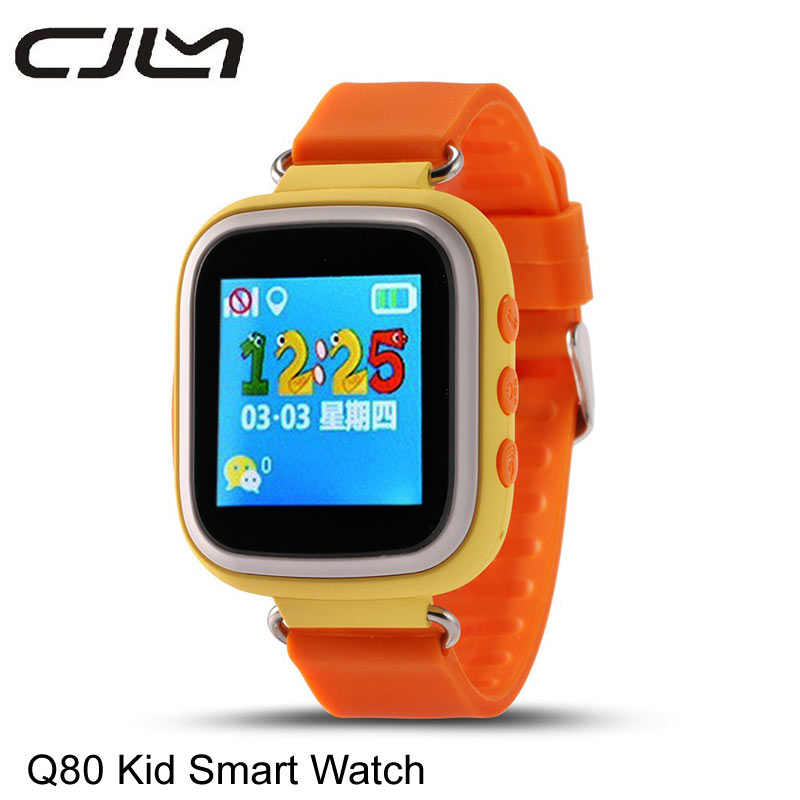 2016 Q80 GPS Tracker Smart Watch Wristwatch Kid Safe Anti Lost SOS Call Location Tracker font