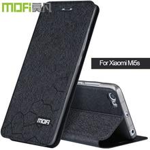 Mi5s для Xiaomi Mi5s флип Чехол чехол-книжка принципиально Кожа Для Xiaomi 5s силиконовый чехол Мягкий задняя обложка книги черный MOFI черный