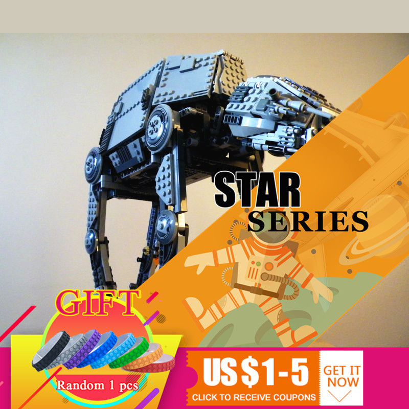 05050 1137pcs Star Series AT Model Wars AT the robot war set Building Blocks Compatible with 10178 toys Gift rollercoasters the war of the worlds