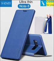 X Level Book Leather Flip Case Cover For Samsung Galaxy Note 8 Fibcolor Ultra Thin X