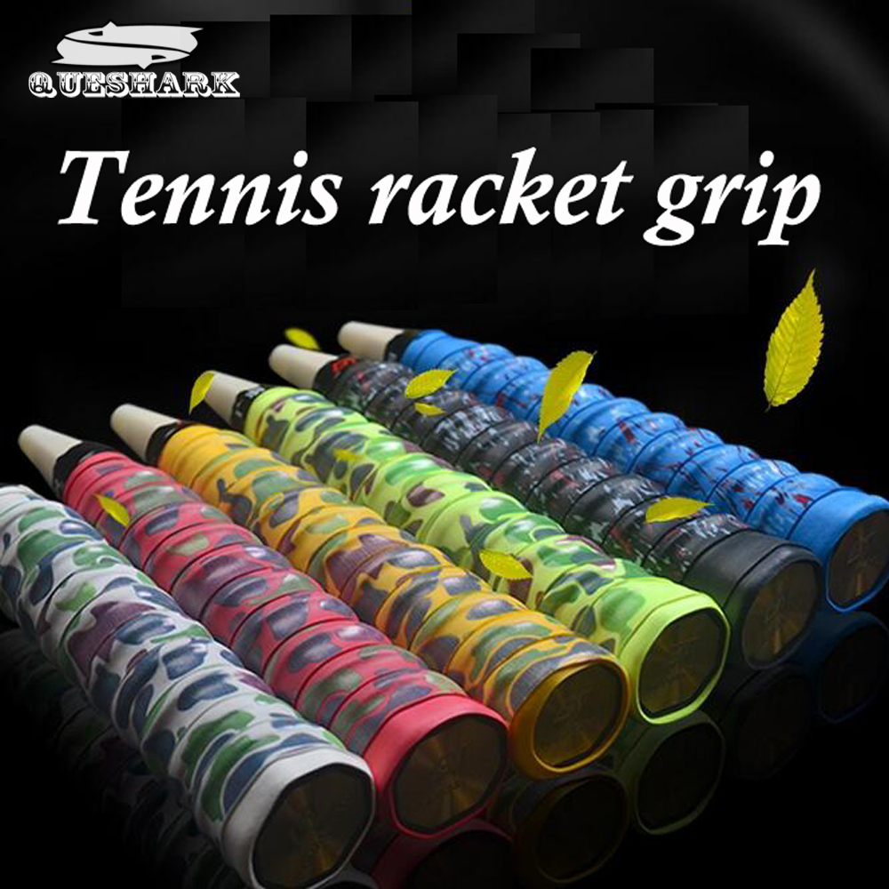 1 pcs Camouflage Anti-slip Racket Over Grips Tennis Badminton Racquet Sports Squash Tape Non-slip Fishing Rods Grips