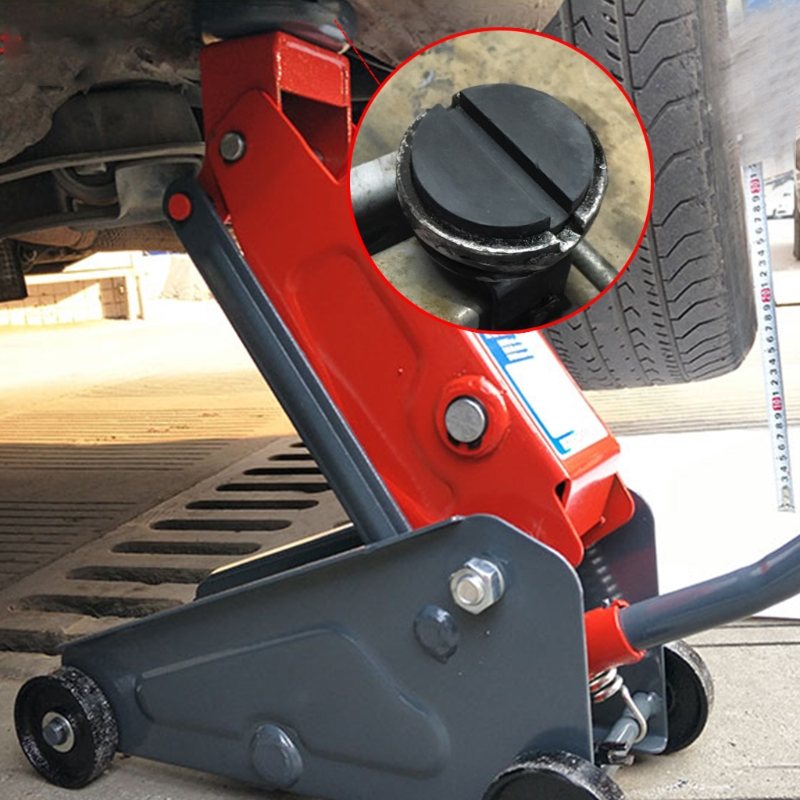 Floor Slotted Auto Car Rubber Jack Pad Frame Protector Guard Adapter Jacking Disk Pad Tool For Pinch Weld Side Li