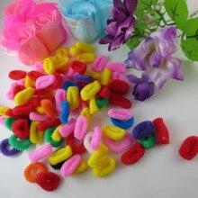 80pcs pack Baby Girls Toddler Kids Children Elastic Hair Bands Bobbles Bows Boutique Y1