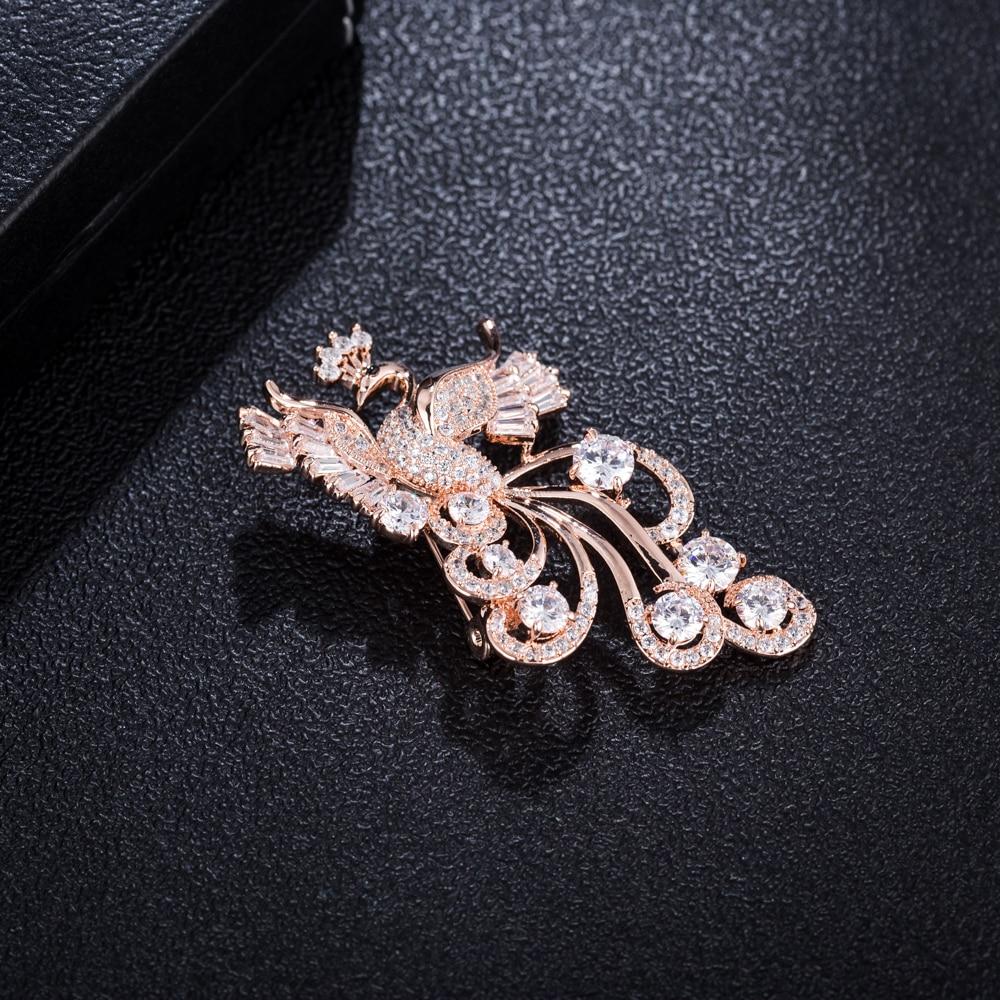 hijab pinos moda cz cristal broches para