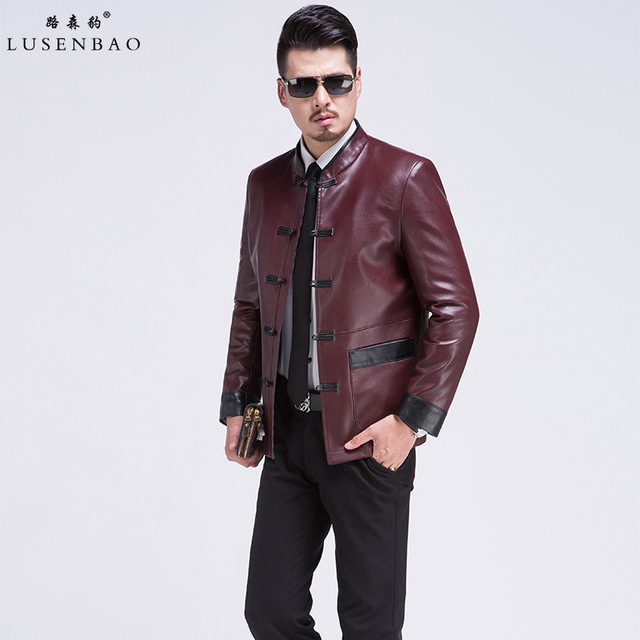 Leather Jacket Mens Echte Leather Blazer Jacket Men Fashion High-grade Sheep Skin Luxurious And Comfortable Leather Jacket Men