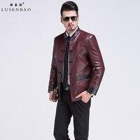 Leather Jacket Mens Echte Leather Blazer Jacket Men Fashion High Grade Sheep Skin Luxurious And Comfortable