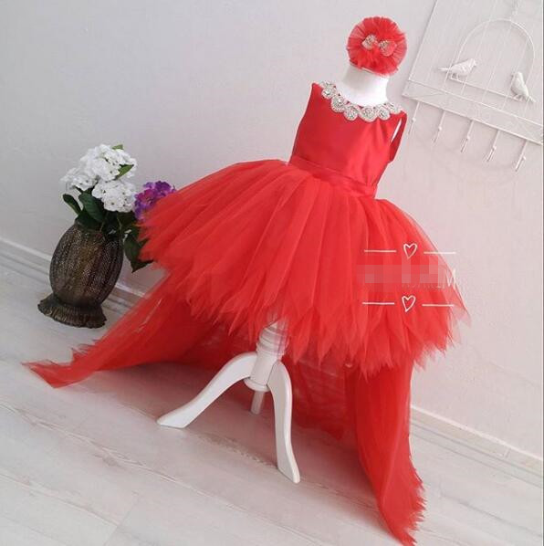 Summer Baby Kids Girl Dress Toddler Princess Party Tutu Dress for Girls Clothes Children Princess Dresses Birthday Wedding Gown 5790 palace style red lace toddler princess party girls dress layers tutu kids dresses for girls wholesale baby girl clothes lot