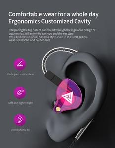 Image 5 - QKZ VK4 filaire écouteur 3.5MM Sport jeu casque écouteurs HiFi musique écouteurs avec micro pour iPhone Samsung Xiaomi