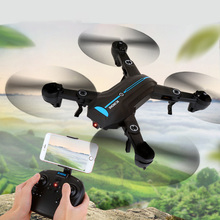 A6 Mini Drones With Camera HD RC Helicopter WIFI FPV Altitude Hold RC Quadcopter Foldable Arm RTF RC Micro Drone Professional z10 mini folding aircraft wifi fpv with 0 3mp hd camera altitude hold headless mode foldable arm rc quadcopter pocket drone