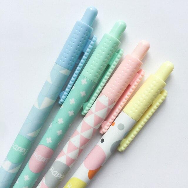 48 יח\חבילה חמוד פשוט סגנון אוטומטי עיפרון פעילות עיפרון 0.7mm לסטודנטים ציור משרד בית ספר מכתבים