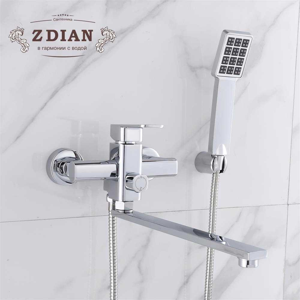 Shower Faucet With Handheld Showerhead Shower Bathtub Faucet Mixer Tap 2 Functions Shower Mixer Bathroom Faucet Tap