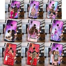 Woman Fashion girl For Huawei P8 P10 P20 P30 Mate 10 20 Honor 8 8X 8C 9 V20 20i