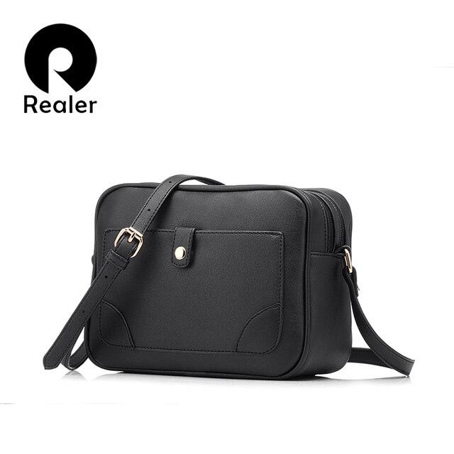 050301b6a2 PLUS RÉEL marque femmes d'épaule occasionnel petit sac à bandoulière sacs  femme flap sac