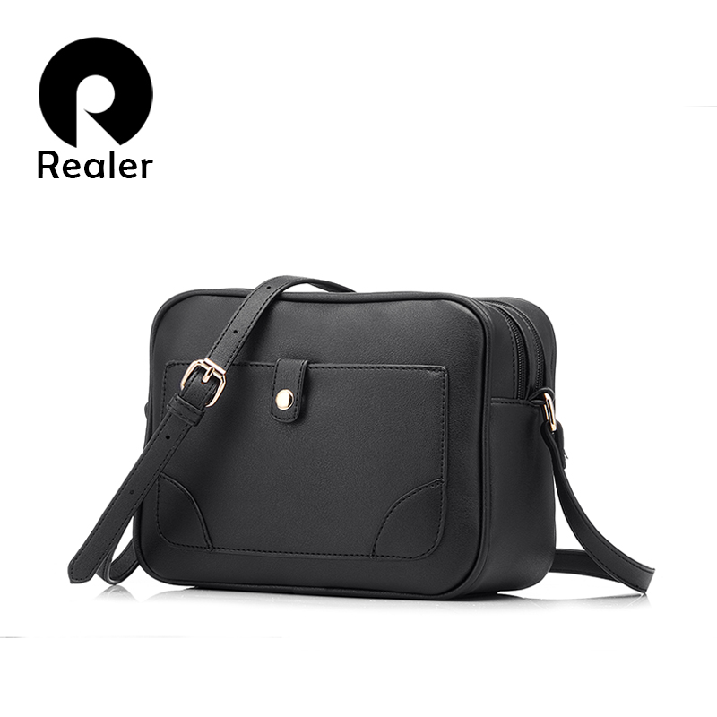 REALER Дизайнерская сумка бренда 2016 года,женская сумка через плечо,даская милая сумочка высокого качества,серая коричневая черная сумка
