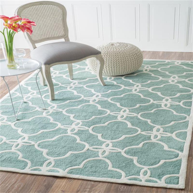 Nordic Simplicity Carpets For For Living Room Elegant