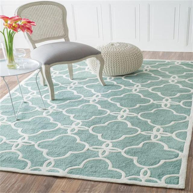Nordic Simplicity Carpets For Living Room Elegant Bedroom Rugs And Carpets  Coffee Table Area Rug/