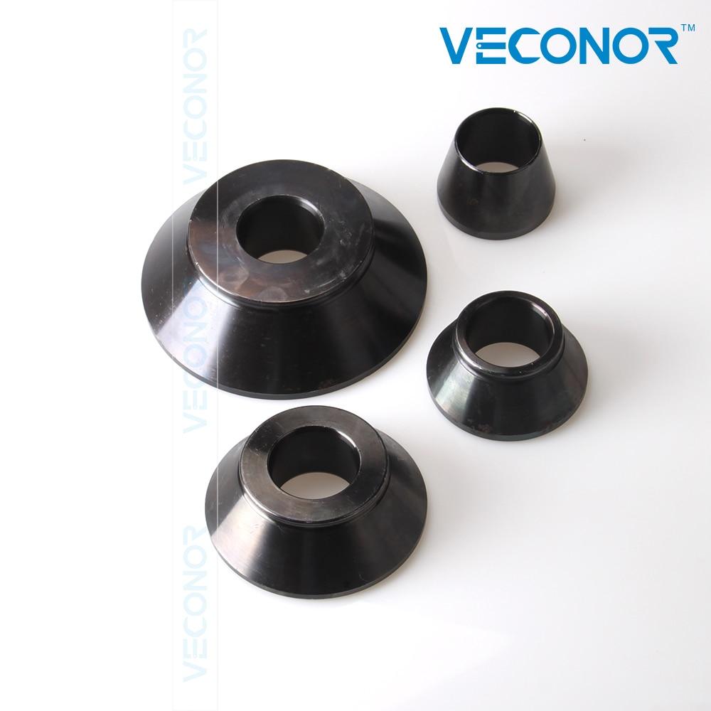 Prix pour Ensemble de cônes pour équilibreuse, balancer adaptateur cônes, compensateur de roue conique standard cône kit ensemble, arbre taille 36, 38 ou 40mm