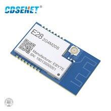 SX1280 100mW LoRa 모듈 2.4 GHz 무선 송수신기 E28 2G4M20S SPI 장거리 6KM 2.4 ghz BLE rf 송신기 2.4 GHz 수신기