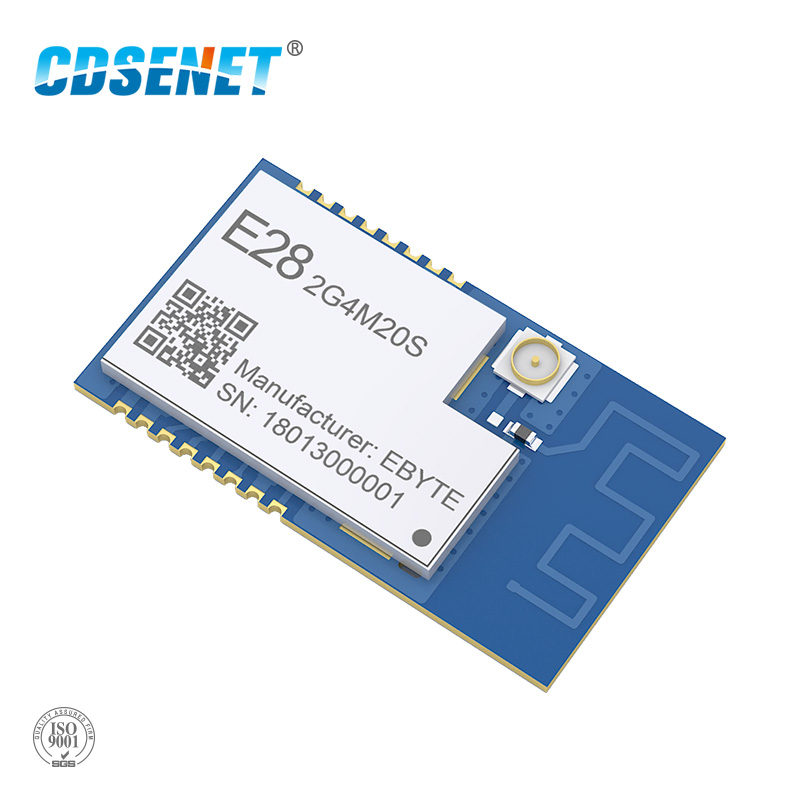 SX1280 100mW LoRa Module <font><b>2.4</b></font> <font><b>GHz</b></font> Wireless Transceiver E28-2G4M20S SPI Long Range 6KM <font><b>2.4</b></font> <font><b>ghz</b></font> BLE rf <font><b>Transmitter</b></font> 2.4GHz Receiver image