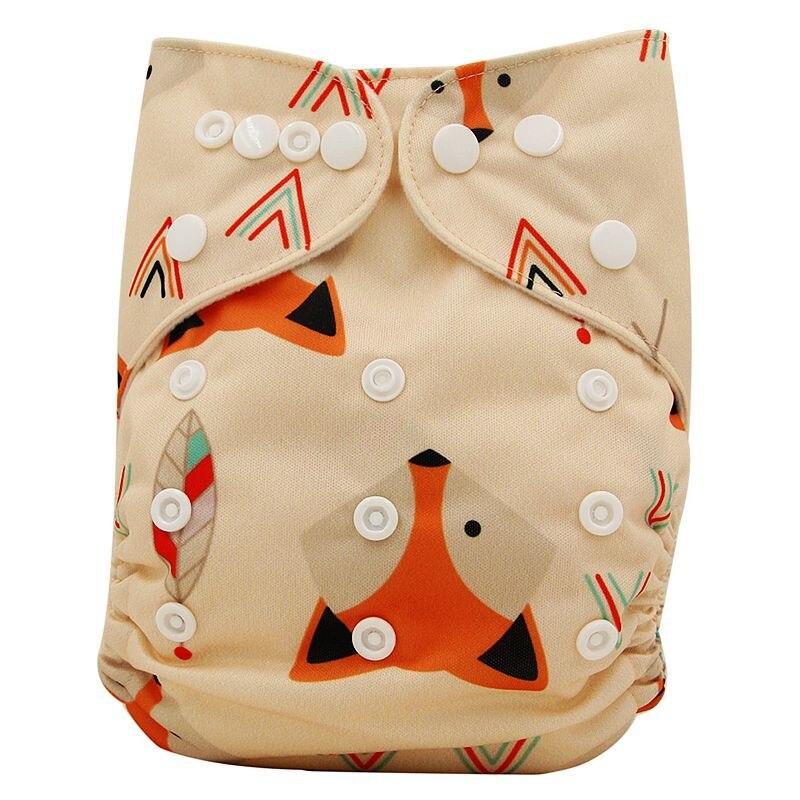Ohbabyka, детские тканевые подгузники, многоразовые подгузники, унисекс, детские штаны для ухода за ребенком, водонепроницаемые тканевые подгузники с карманами, детские подарки для душа - Цвет: OB137