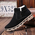 2016 Autumn and Winter Shoes Men Martin Casual Ankle Boots British Warm Plush Outdoor Winter Mens Boots Plush Winter Boots Snow