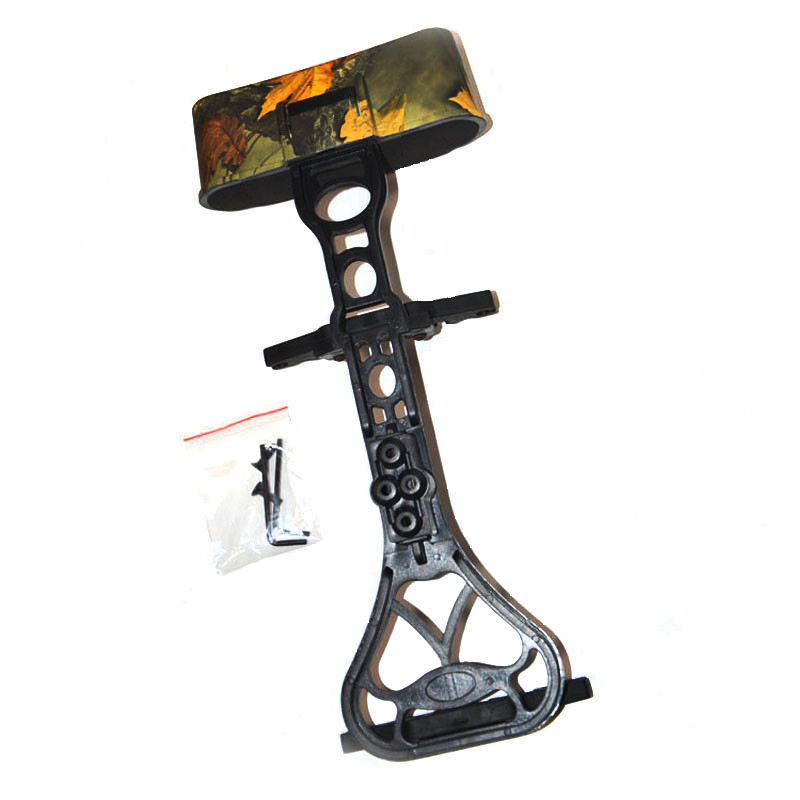 1 Piece Archery Arrow Quiver in Camo Color 6 Arrows Bow Quiver for Compound Bow Hunting dmar archery quiver recurve bow bag arrow holder black high class portable hunting achery accessories