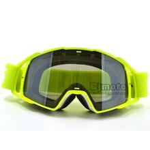 MG-021B-WH-YE Motocross Goggles Glasses Men Women MX Off Roa