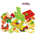 New Style Waffle Model Fimo Clay Tools Kid's Toy,Creative DIY Play Doh Plasticine for Children's Birthday Present