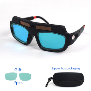 Image 2 - Solar Power Auto Darkening Welding Goggles LCD Protective Lightening Argon Arc Welding Gas Cutting Safety Glasses Eye Protection
