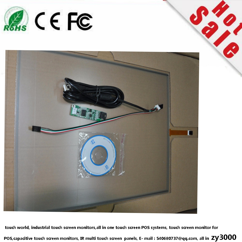 цены Free Shipping new stock 5 pcs/lot 15.6 Inch 363*215 USB resistive touch screen panel