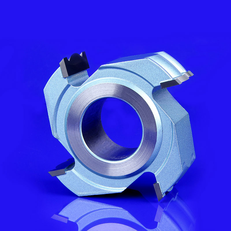 Spiral Wood Shaper Cutters Tungsten Carbide Blade for Moulder Machine Woodworking Tool Thickness 20mm 4 flutes  цены