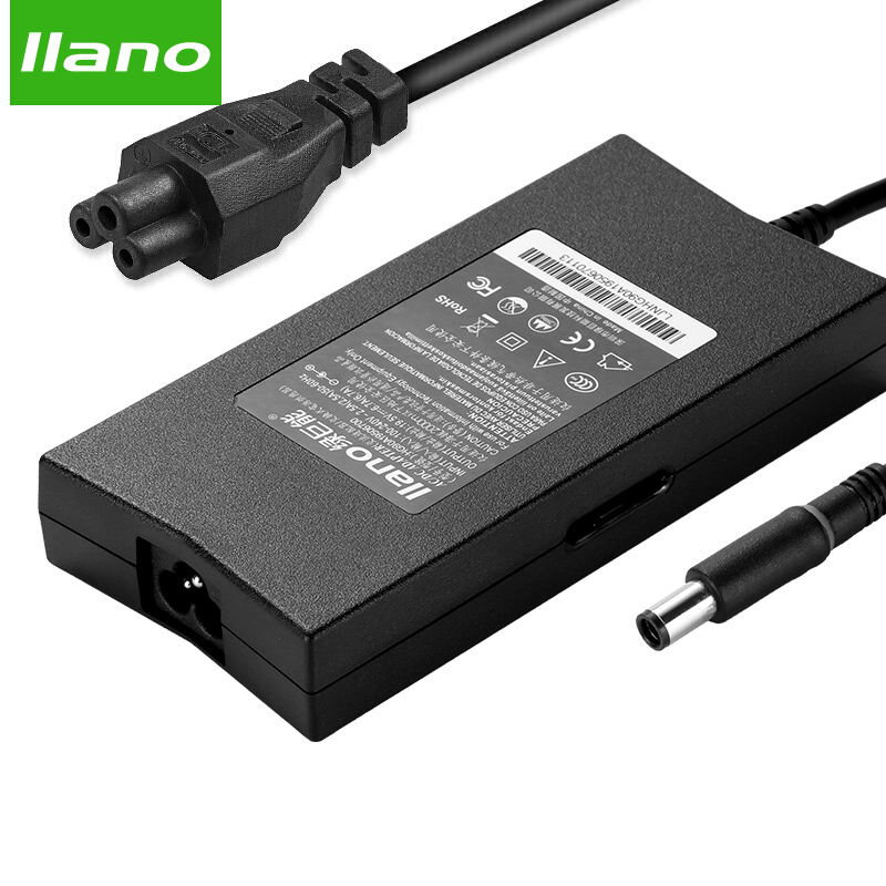 Llano 19.5V 6.7A PA-4E Power Adapter for Dell Laptop 130W for Dell XPS 14 L401X 15 L501X L701X M17010 130w 19 5v 6 7a 7 4 5 0mm replacement for dell xps 14 l401x 15 l501x l502x 17 l701x l702x m170 m2010 ac charger power adapter