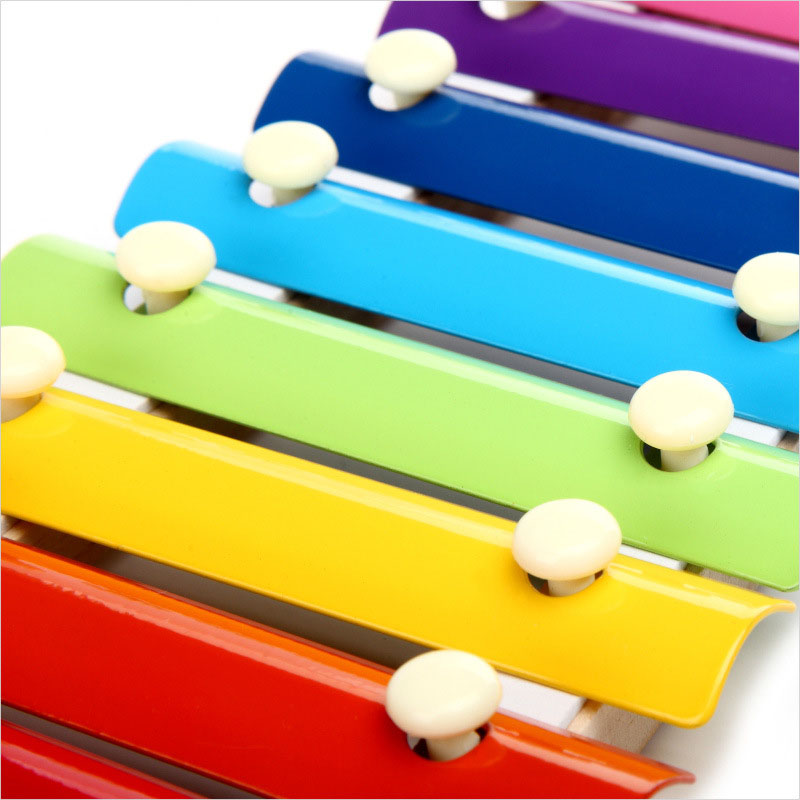 US $6 28 26% OFF|Wooden 8 Tones Multicolor Xylophone Wood Musical  Instrument Toys For Baby Kids YJS Dropship-in Toy Musical Instrument from  Toys &