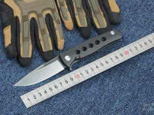 D2 pocket Folding knife Dr. Death G10 handle outdoor utility EDC knives camping hand tool tactical survival knife