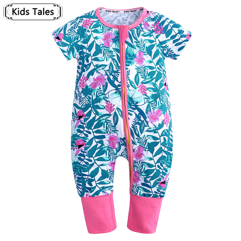 SR403 Newborn Baby Girl Boy   Rompers   Summer Cotton   Rompers   Hot Sale Kids Jumpsuit Outfits Cute Baby Clothes 0-24M