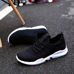 Image 3 - אור נעליים יומיומיות גברים סניקרס אביב נעלי גברים 2019 חם נעלי ריצה מזדמנים גברים נעל אופנה Chaussure Homme גדול Size36 47