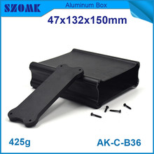 10pcs/lot hot sales szomk electronic aluminium switch enclosure for GPS tracking 47x132x150mm