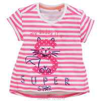 Lucky S Baby Girls Clothing 100 Cotton Toddler Children Kids Clothes Brand 2016 Summer T Shirt