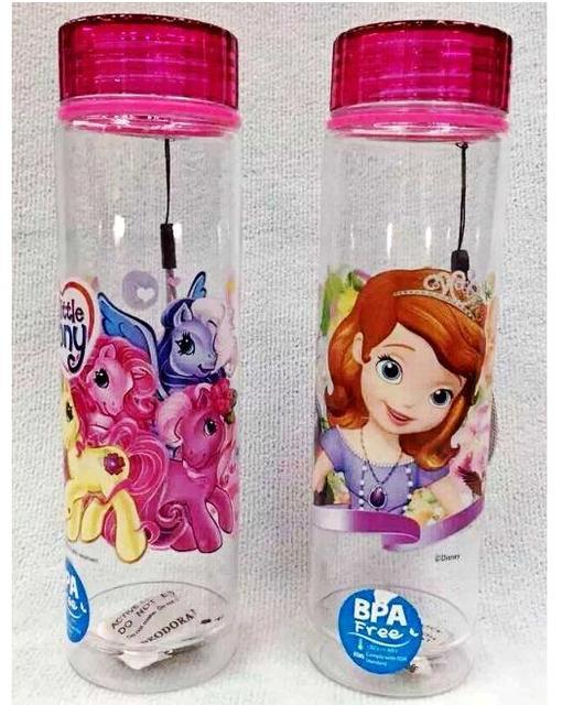 Moda para nios sofia botellas de agua 400 ml nios botellas de
