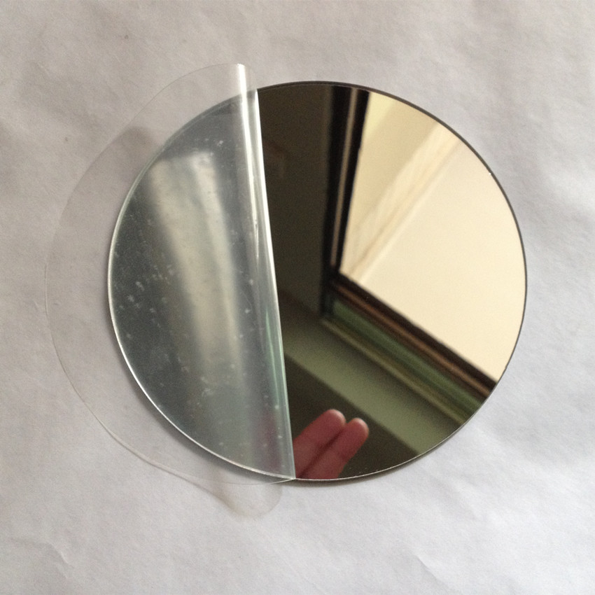 200pcs Lot Acrylic Plexiglass Mirror D200x1mm Round