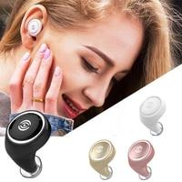 Bluetooth 4 1 Mini In Ear Wireless Ultra Small Sport Earbuds Headset Stereo Earphone With Mic