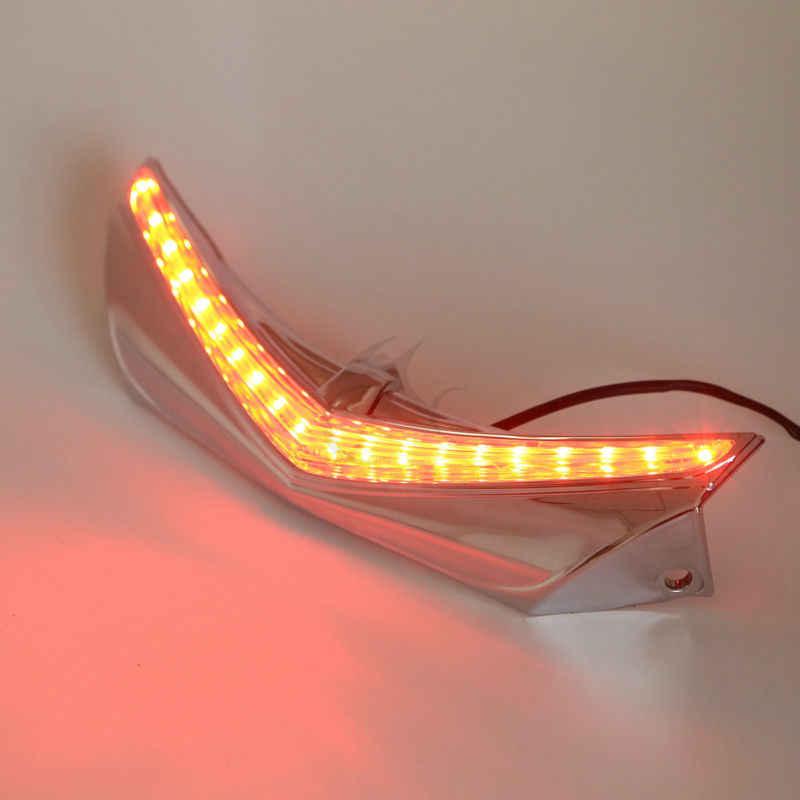 LED الخلفية درابزين تلميح تشغيل الفرامل لهوندا GL1800 جولدوينج و F6B 2013-16 14 15